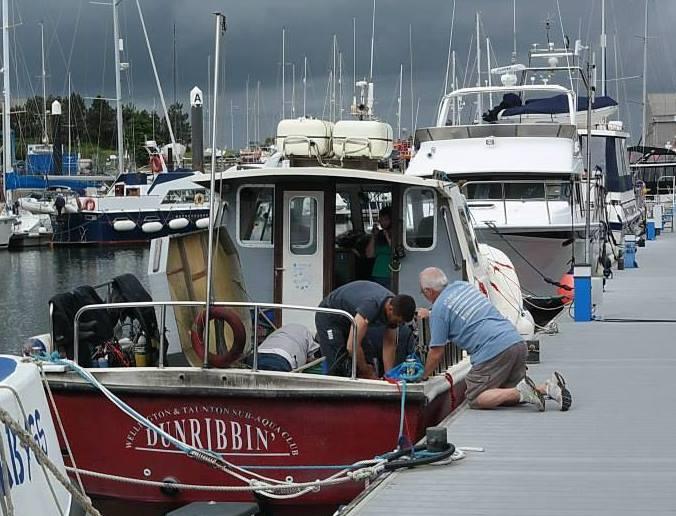 Dunribbin - the club boat
